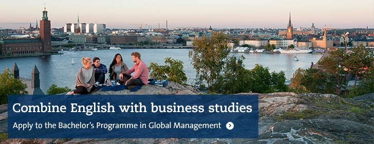 Bachelor's Programme in Global Management