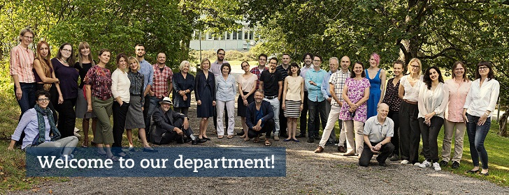 Photo of the staff at the Department of English